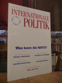 Deutsche Gesellschaft für Auswärtige Politik, Internationale Politik, Nr. 6, Jun