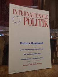 Deutsche Gesellschaft für Auswärtige Politik, Internationale Politik, Nr. 3, Mär