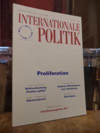 Deutsche Gesellschaft für Auswärtige Politik, Internationale Politik, Nr. 1, Jan