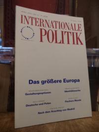 Deutsche Gesellschaft für Auswärtige Politik, Internationale Politik, Nr. 4, Jun