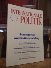 Deutsche Gesellschaft für Auswärtige Politik, Internationale Politik, Nr. 11, No