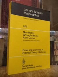 Boboc, Order and Convexity in Potential Theory: H-Cones,