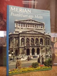 Frankfurt, MERIAN Heft 8/XXI von 1968: Frankfurt am Main,