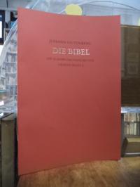 Gutenberg, Die Schöpfungsgeschichte – Das erste Blatt der 42zeiligen Bibel des J