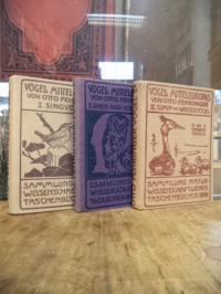 Fehringer, Die Vögel Mitteleuropas, 3 Bände (= alles),