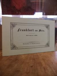 Buchhandlung von Siegmund Schmerber (Hrsg.), Frankfurt am Main – Ostermesse 1836