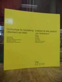 Hochschule für Gestaltung Offenbach am Main, Ausstellung Grafik-Design der Hochs