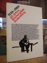 60 Jahre Büchergilde Gutenberg 1924 – 1984,