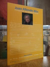 Juan Allende-Blin : Komponist und Musikchronist – Verzeichnis der Werke, Rundfun