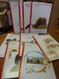 Strutz, Natur und Museum. Die Senckenberg-Naturzeitschrift – Konvolut von neun E