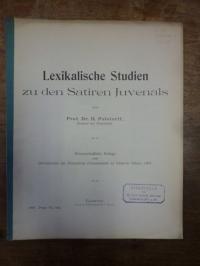 Juvenal / Polstorff, Lexikalische Studien zu den Satiren Juvenals,