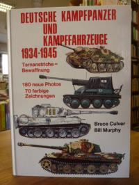 Culver, Deutsche Kampfpanzer und Kampffahrzeuge 1934 – 1945. Tarnanstriche – Bew