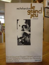 Random, Le Grand Jeu – Essai (signiert),