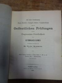 Pindar / Mommsen, Tycho Teil 1: Scholia Thomano-Tricliniana in Pindari