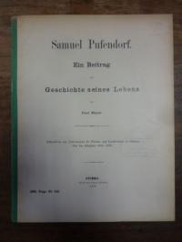 Meyer, Samuel Pufendorf – ein Beitrag zur Geschichte seines Lebens,