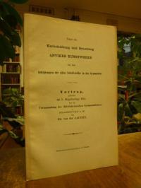 Ed. v. d. Launitz (das ist Eduard von der Launitz), Ueber die Herbeiziehung und