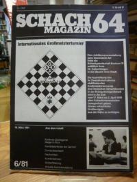 Schach / Borik, Schachmagazin 64 – Heft 6 – 1981,