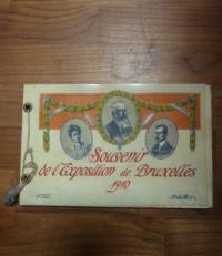 Souvenir de l'Exposition de Bruxelles 1910,