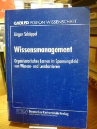 Schüppel, Wissensmanagement – Organisatorisches Lernen im Spannungsfeld von Wiss