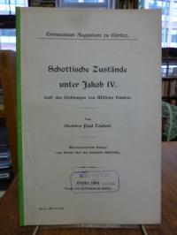 Hermann, Schottische Zustände unter Jakob IV. nach den Dichtungen von William Du