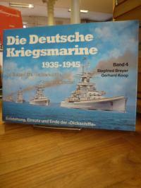 Breyer, Die deutsche Kriegsmarine 1935 – 1945 – Band 4 – Schlachtschiffe, Panzer
