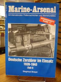 Breyer, Deutsche Zerstörer im Einsatz 1939 – 1945 – Teil 1,