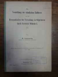 Iwanowius, Die Vernichtung des ständischen Einflusses