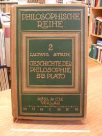 Stein, Geschichte der Philosophie bis Platon,