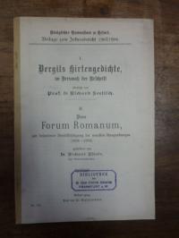 Vergil / Seelitsch, Teil 1: Vergils Hirtengedichte im Versmass der Urschrift übe