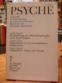Bohleber, Psyche – Zeitschrift für Psychoanalyse und ihre Anwendungen, 42. Jahrg