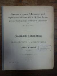 Rosenthal, Max Quamnam curam Athenienses post expe