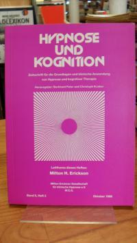 Burckhard, Hypnose und Kognition Band 5 – Heft 2 – Oktober 1988 – Leitthema dies