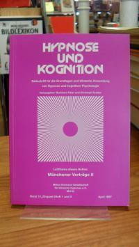Amler, Hypnose und Kognition Band 14 – Heft 1 – April 1997 – Leitthema dieses He