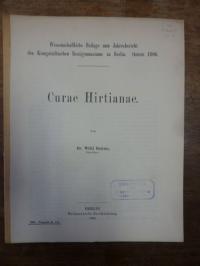 Dahms, Curae Hirtianae,