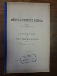 Pischinger, De arbitris Atheniensium publicis,