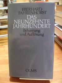 Fahrenhorst, Das Neunzehnte Jahrhundert – Beharrung und Auflösung,
