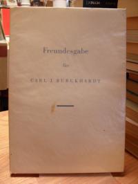 Freundesgabe für Carl J. Burckhardt,