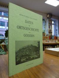 Heimatverein Bad Goisern (Hrsg.), Daten zur Ortsgeschichte von Goisern,
