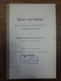 Floeckner, Bibel und Babel – Eine populär-wissenschaftliche apologetische Studie
