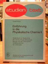 Wicke, Einführung in die physikalische Chemie II – Gleichgewichtszustände, zweit