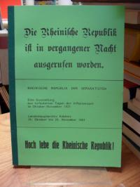 Landeshauptarchiv Koblenz / Hans-Jürgen Krüger (Hrysg.), Rheinische Republik der