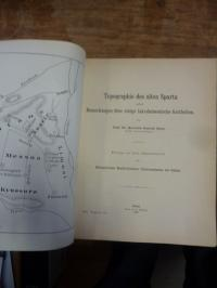 Stein, Topographie des alten Sparta nebst Bemerkungen über einige lakedaimonisch