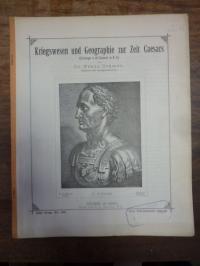 Cramer, Kriegswesen und Geographie zur Zeit Caesars (Einleitung in die Commentar