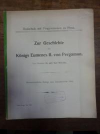 Meischke, Zur Geschichte des Königs Eumenes II. von Pergamon,