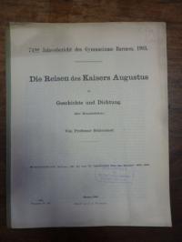 Schleusner, Die Reisen des Kaisers Augustus in Geschichte und Dichtung (zur Hora