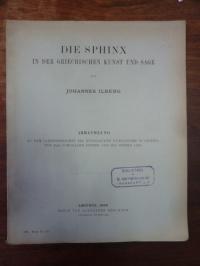 Ilberg, Die Sphinx in der griechischn Kunst und Sage,