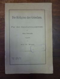 Wessel, Die Religion der Griechen,