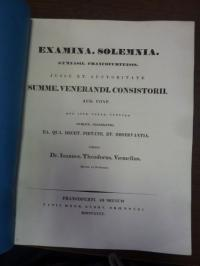 Voemelius, Teil 1: Notitia Codicum Demosthenicorum IV, Teil 2: Schulnachrichten,