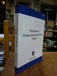 Haffner, Frankfurter Zeitgemasse Broschuren (1881) [= Frankfurter Zeitgemäße Bro