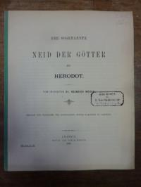 Meuss, Der sogenannte Neid der Götter bei Herodot,